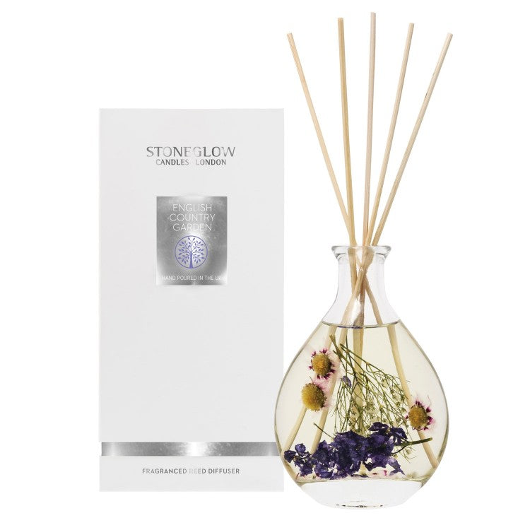 Stoneglow Candles Nautre's Gift Reed Diffuser English Country Garden