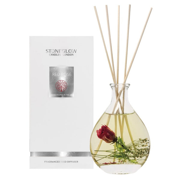 Stoneglow Candles Nautre's Gift Reed Diffuser Red Rose