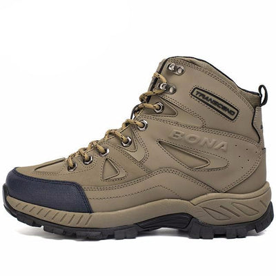 Anti-Slip Mens Hiking Shoes Mid