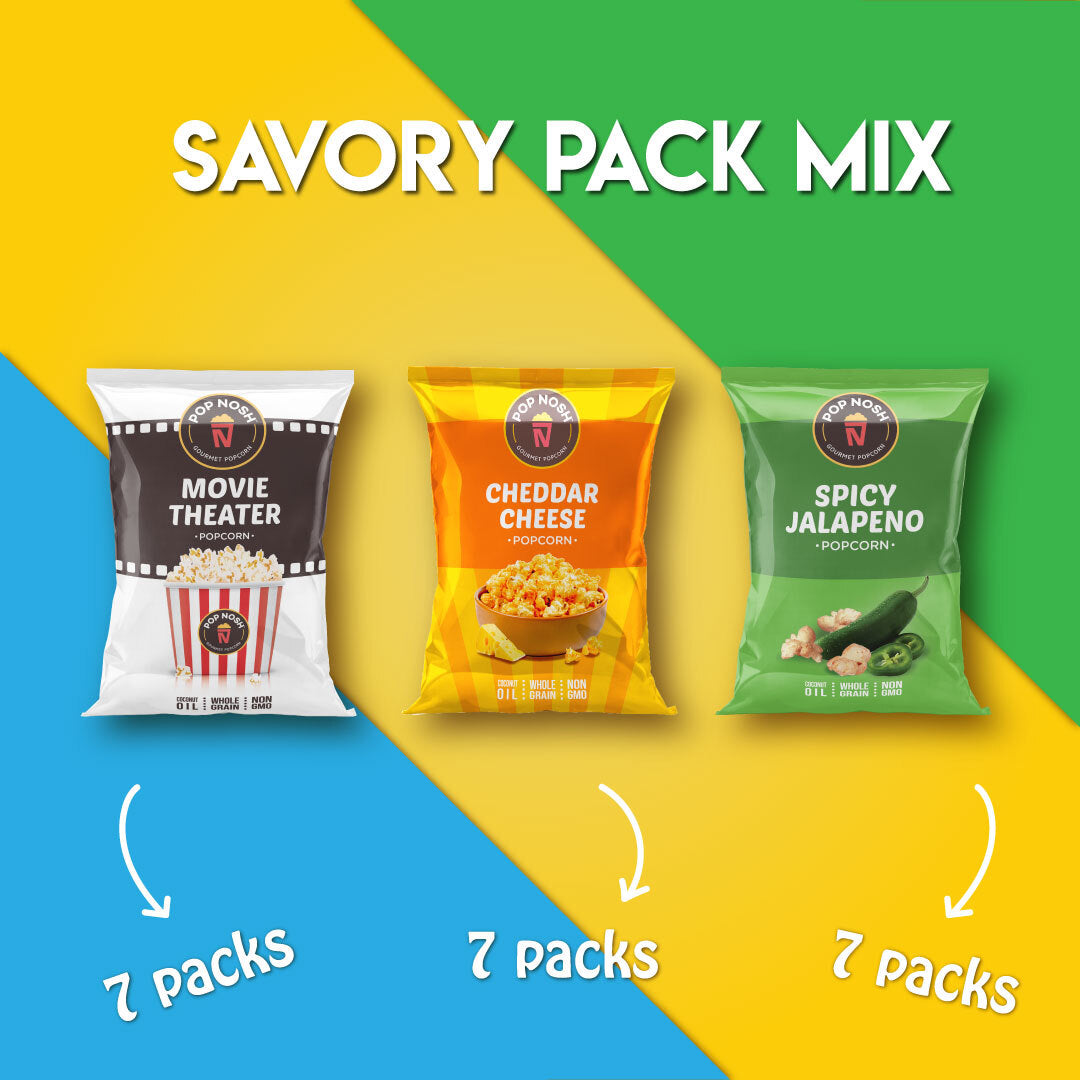 Retail Savory Pack Mix
