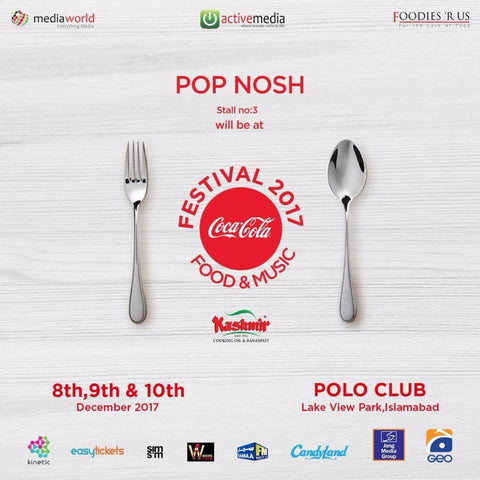 Pop Nosh at Coke Fest Islamabad