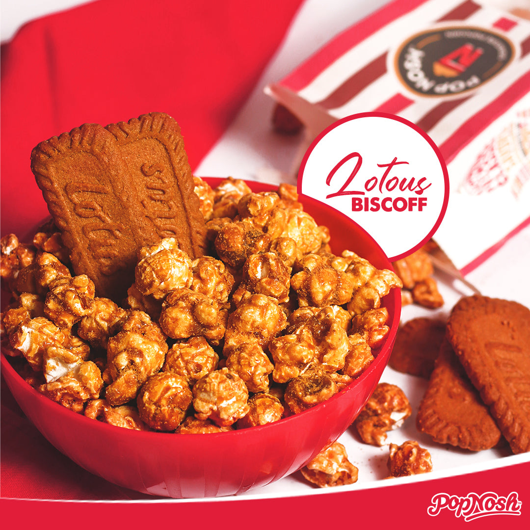 Introducing Lotus Biscoff Popcorn in Pakistan