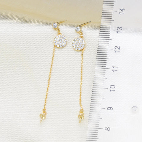 Breast Milk Earring Base - EE0101