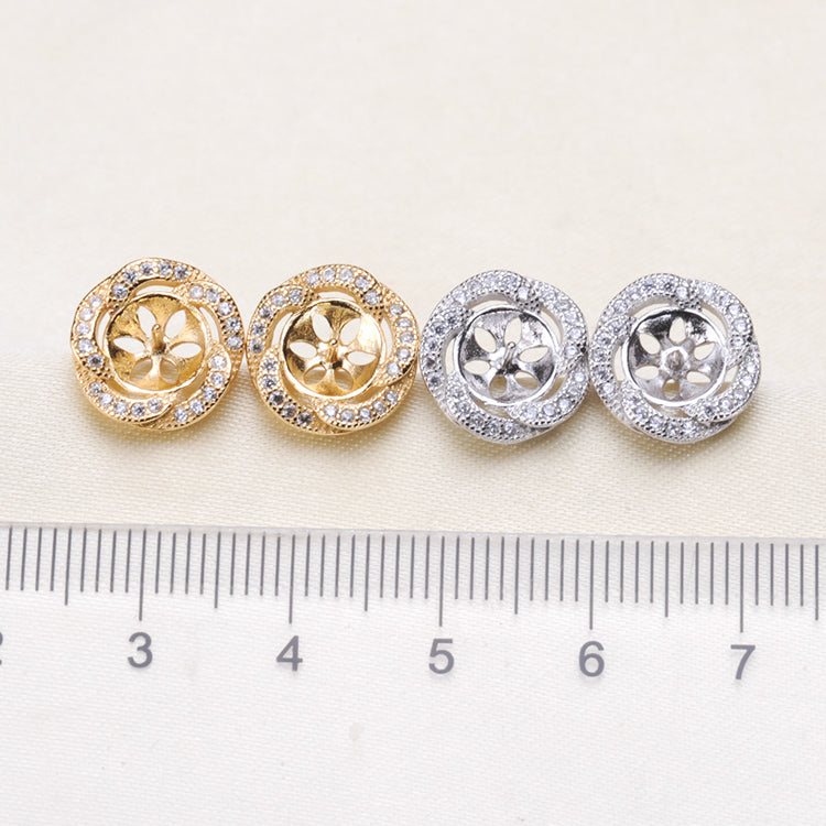 Breast Milk Earring Base - EE0106