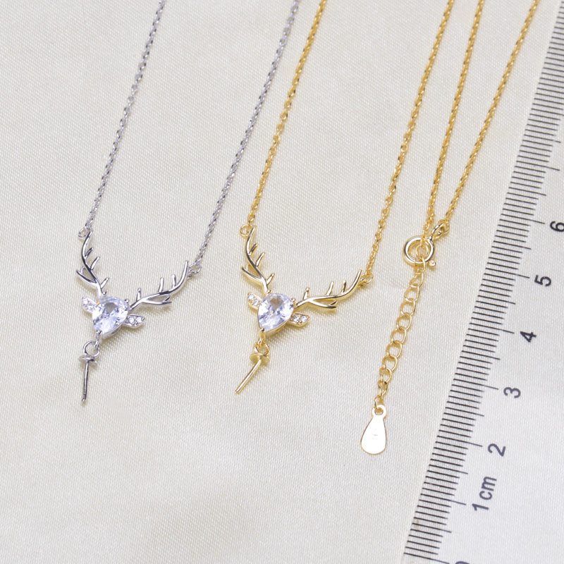 Breast Milk Charm Necklace - EN0003