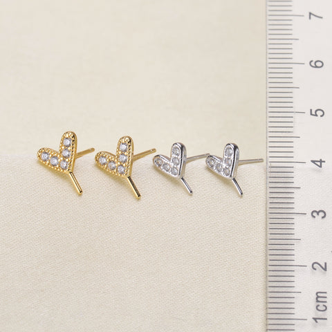 Breast Milk Earring Base - EE0059