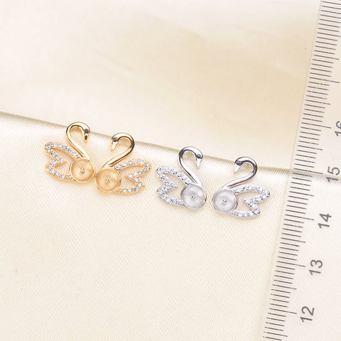 Breast Milk Earring Base - EE0065
