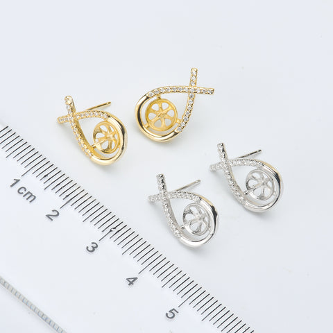 Breast Milk Earring Base - EE0087