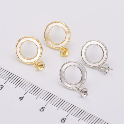 Breast Milk Earring Base - EE0090