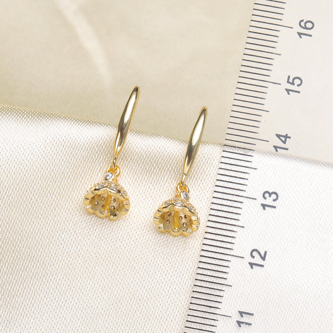 Breast Milk Earring Base - EE0093