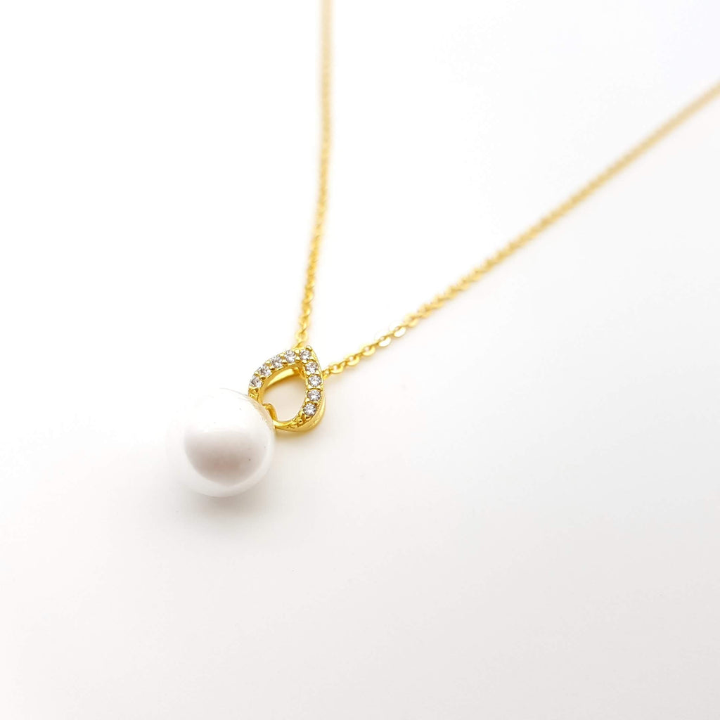 Gold Plated over Sterling Silver Pendant Base for Breast Milk Jewelry Vial - PB-83
