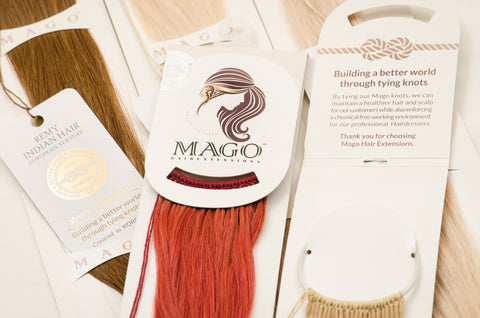 Mago Hair Extensions - 18""
