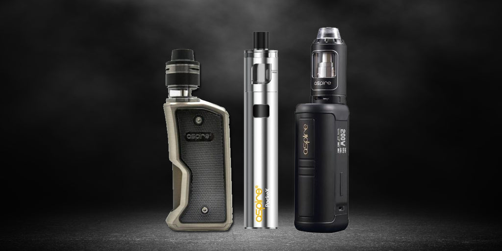 Aspire Are The Trending Brands of Vapes Product