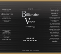 Billionaire Vapes Shortfill