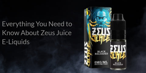 Picture of Zeus Juice Black Reloaded Eliquid