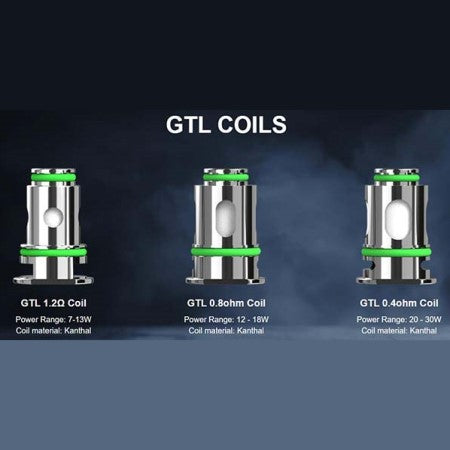 Eleaf GTL Replacement Coils 5 Pack