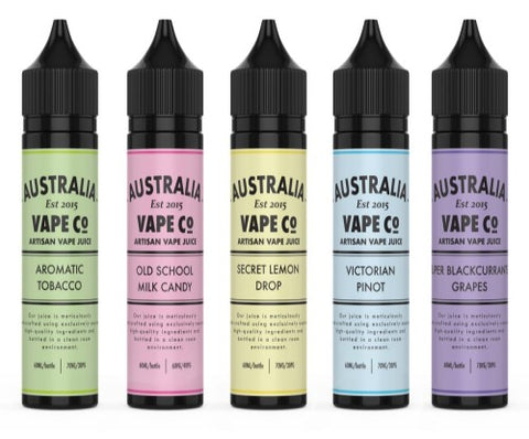 Australia Vape Co Shortfill - Aromatic Tobacco