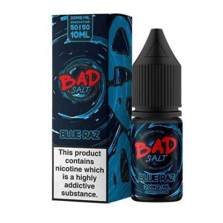 Bad Juice Nic Salts Blue Raz Candy