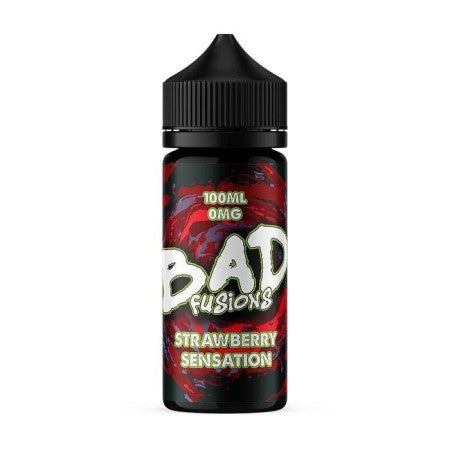 Bad Juice Fusions Strawberry Sensation 100ml Shortfill