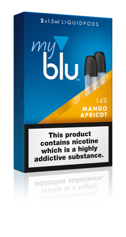 MyBlu E-Liquid Pod Mango and Apricot