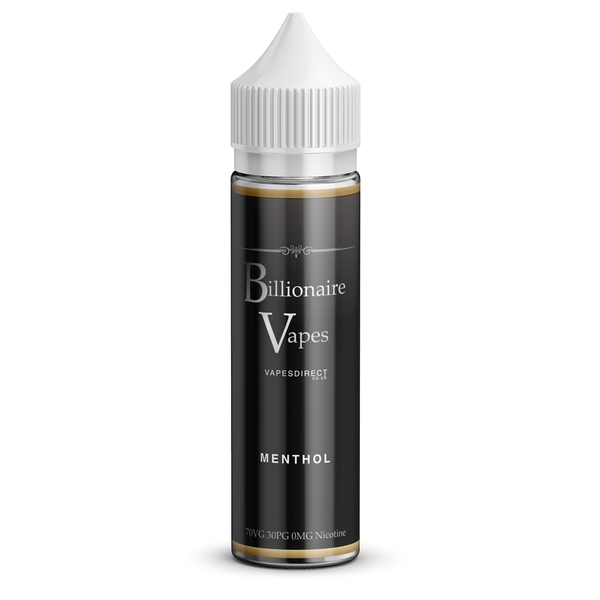 Billionaire Vapes 50ml Shortfill Menthol