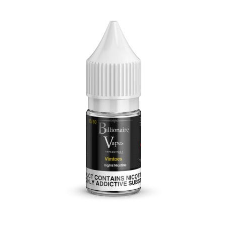 Billionaire Vapes 50/50 Eliquid 10ml Vimtoes