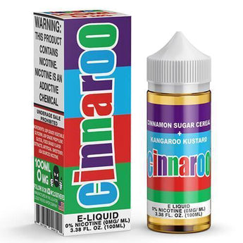 Cinnaroo Eliquid 100ml 0mg