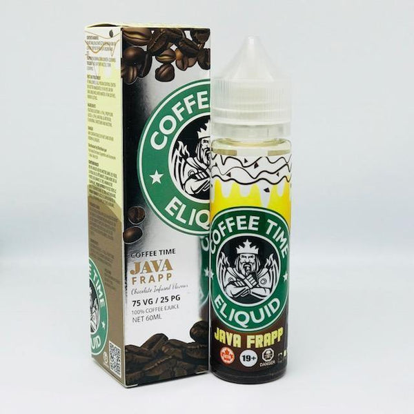 Coffee Time E-Liquid Java Frapp Shortfill