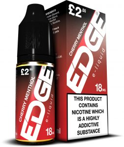 Edge Eliquid Cherry Menthol