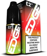 Edge Eliquid Strawberry and Lime