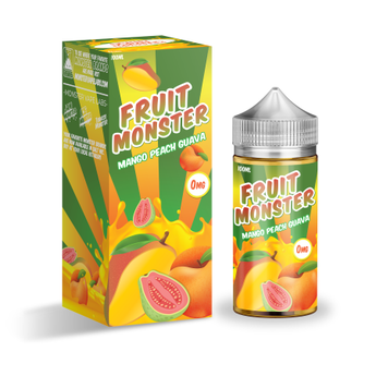 Fruit Monster 100ml Shortfill Mango Peach Guava
