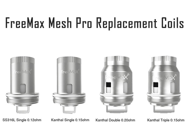 FreeMax Mesh Pro Replacement Coils 3 Pack