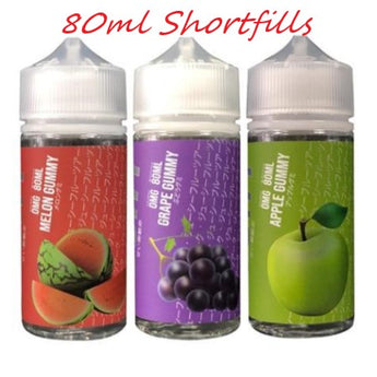 Gochy Eliquid 80ml Shortfill Apple Gummy