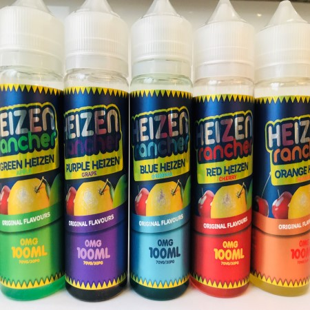 Heizen Rancher 100ml Shortfill Eliquid Red