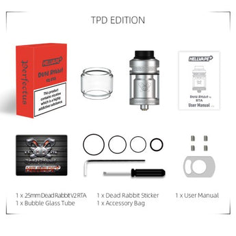 Hellvape Dead Rabbit V2 RTA Tank - Free UK Delivery