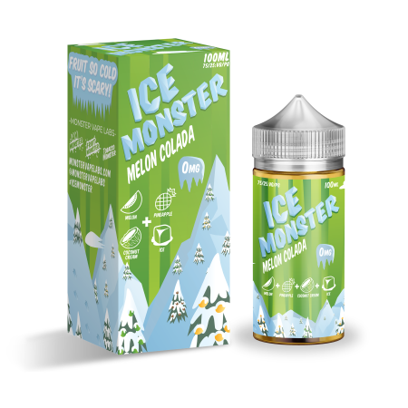 Ice Monster 100ml Shortfill Melon Colada