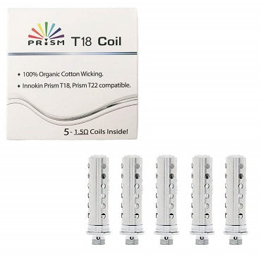 Innokin T18 Replacement Coils 5 Pack