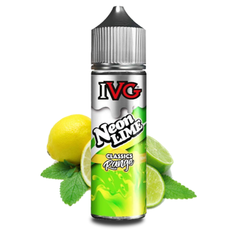 IVG Classics Shortfill Eliquid 50ml Neon Lime