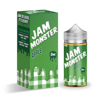 Jam Monster 100ml Shortfill Apple