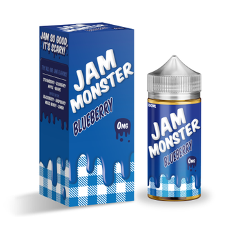 Jam Monster 100ml Shortfill Blueberry
