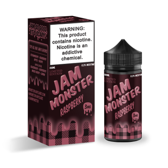 Jam Monster 100ml Shortfill Raspberry
