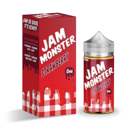 Jam Monster 100ml Shortfill Strawberry