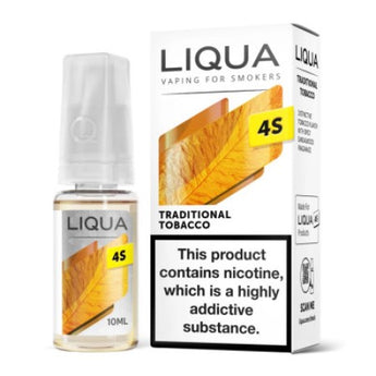 Liqua Nic Salts 4S Traditional Tobacco