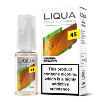Liqua Nic Salts 4S Virginia Tobacco