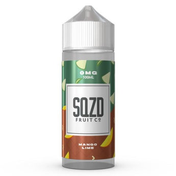 SQZD Fruit Co 50ml Shortfill Mango and Lime