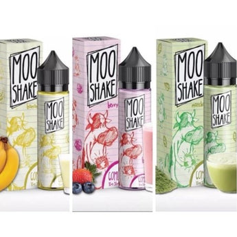 Moo Shake 50ml Shortfill Matcha