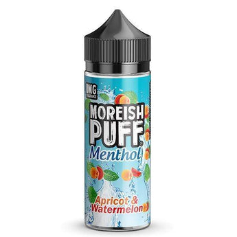 Moreish Puff Menthol Shortfill 50ml Apricot Watermelon
