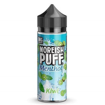 Moreish Puff Menthol Shortfill 50ml Kiwi