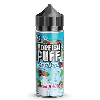 Moreish Puff Menthol Shortfill 50ml Mixed Berries