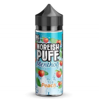 Moreish Puff Menthol Shortfill 50ml Peach
